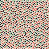 Abstract modern colorful isometric geometric pattern background. Vector illustration Stock Photo