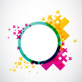 Abstract modern colors design Stock Image