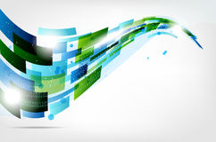 Abstract modern computer background Stock Photo