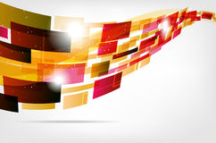 Abstract modern computer background Royalty Free Stock Photo