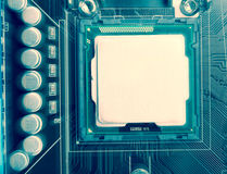 Abstract modern cpu Stock Images