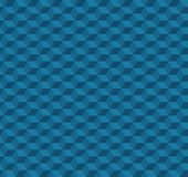 Abstract Cube Pattern Design - Blue Vector Illustration. Abstract Modern Cube Pattern Design - Blue Vector Illustration Stock Images