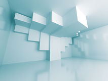 Abstract Modern Design Interior Background Stock Photography