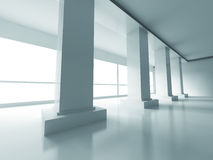 Abstract Modern Empty Interior Background Royalty Free Stock Image
