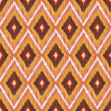 Abstract Modern Ethnic Seamless Fabric Pattern Stock Photo