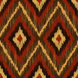 Abstract Modern Ethnic Seamless Fabric Pattern Royalty Free Stock Images