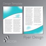 Abstract Modern Flyer Brochure Design Template Royalty Free Stock Photos