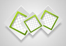 Abstract modern frames background Stock Image