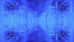 Abstract modern futuristic wire background 3d rendering Royalty Free Stock Images