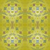 Seamless regular pattern olive green purple and gray. Abstract modern geometric background, seamless circles pattern with gray, purple and brown square elements vector illustration