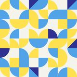 Abstract modern geometric background royalty free illustration