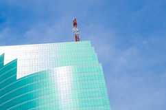 Abstract  modern glass building Stock Image