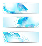Abstract modern header banner for business Stock Image