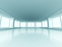 Abstract Modern Indoor Interior Architecture Background Royalty Free Stock Photography