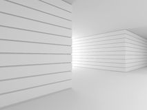 Abstract modern interior. 3D. Stock Photos