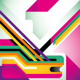 Abstract modern layout. Stock Photography