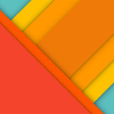 Abstract modern material design background. Vector illustration Stock Image