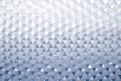Abstract modern metaal driehoekig muurpatroon royalty-vrije stock foto