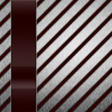 Abstract modern metal glass background Stock Photos