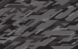 Abstract modern military camo texture style background. stock illustration