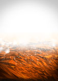 Abstract modern orange and white background Royalty Free Stock Photo