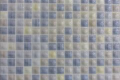 Ceramic tiles in the pool or bathroom pattern texture background royalty free stock image