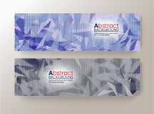 Abstract modern pixel background design modern template can be used for brochure banners. Banners, abstract modern pixel background design modern template can be Royalty Free Stock Photography