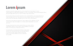 Abstract modern red frame template tech sport concept background layout Stock Images