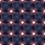 Abstract modern seamless pattern 3d rendering. Abstract modern futuristic seamless pattern with glowing rectangles 3d rendering Royalty Free Stock Image