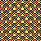 Abstract modern seamless stitching pattern in ice cream colors Stock Photography