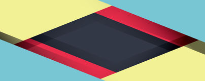Abstract modern shape material design. Material design Royalty Free Stock Image