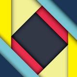 Abstract modern shape material design. Material design Stock Photos