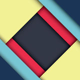 Abstract modern shape material design. Material design  Stock Images