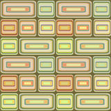 Abstract modern squares seamless pattern texture on retro backgr Stock Photo