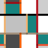Abstract modern squares seamless pattern texture retro backgroun Stock Photography