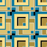 Abstract modern squares seamless pattern texture retro backgroun Royalty Free Stock Image