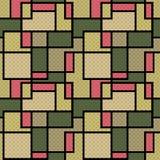 Abstract modern squares seamless pattern texture retro backgroun Stock Photo