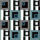 Abstract modern squares seamless pattern texture retro backgroun Stock Images
