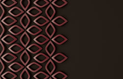 Abstract modern style geometric background Stock Image