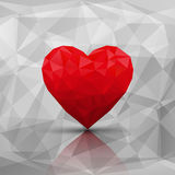 Abstract modern style love background. Vector illustration Royalty Free Stock Images