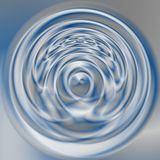 Abstract modern swirl background - blue and silver gray colored - sateen material Stock Image