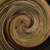 Abstract modern swirl background - dark brown woody colored. Abstract modern art swirl background - dark brown woody colored Royalty Free Stock Photos