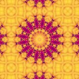 Abstract, modern texture for objects. Basic yellow and purple colors.