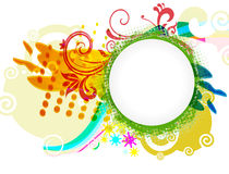 Abstract modern vector illustration Royalty Free Stock Image