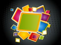 Abstract modern vector illustration Royalty Free Stock Photography