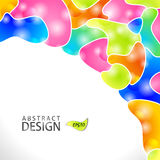 Abstract modern website background design Stock Images