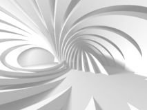 Abstract Modern White Architecture Background stock illustration
