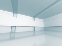 Abstract Modern White Architecture Background. 3d Render Illustration Stock Photography