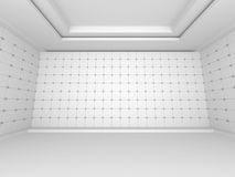 Abstract Modern White Architecture Background Stock Photography
