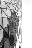 Abstract Modern Window Building Reflection Royalty Free Stock Photography